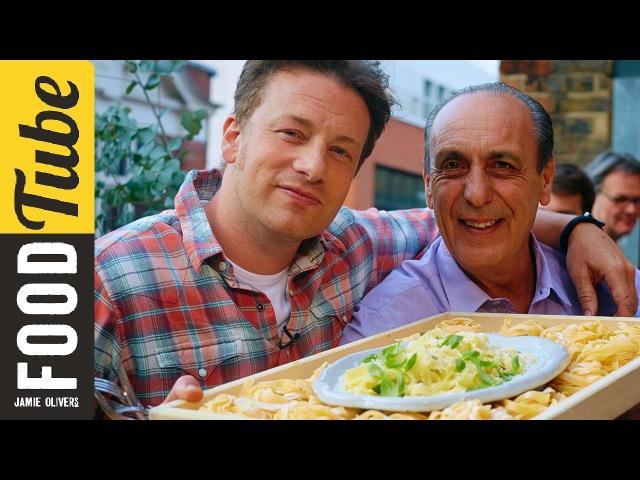 Jamie Gennaro's Lemon Basil Fettuccine | Food Tube Live
