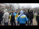 12 04 2014 Херсон Несанкционированный митинг сепаратистов провалился