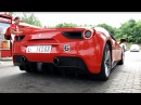 Ferrari 488 GTB closeup look sound - Ferrari Racing Days 2015