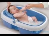Как купать новорожденного ребенка видео