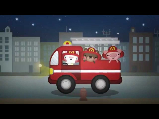 Hurry Hurry Drive the Firetruck   Fire Truck Song   Car Songs for Kids   The Kiboomers