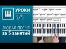 Аккорды на пианино (5/5) - Играем песни изученными аккордами (its-
