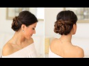 2 Minute Elegant Bun Hair Tutorial Luxy Hair
