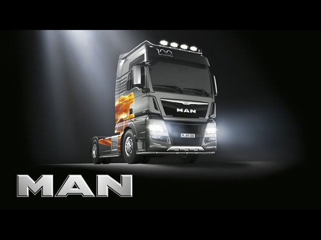 MAN TGX D38 100 Years Edition Exclusivity has a name