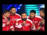КВН 2015 Спарта - Песня о сборной России по футболу - КВН 15.05.2015 Первая 1-4 финала