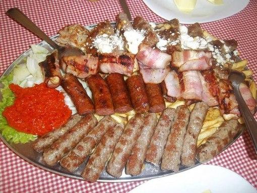 Сербская кухня фото