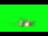 Green Screen 3 explosiones en secuencia