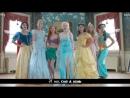 Frozen - A Musical feat. Disney Princesses [русские субтитры]