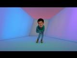 Тест закрепления элемента ,ну или просто танец от Михаила Лесохина.