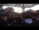 Mufc fans in Wolfsburg