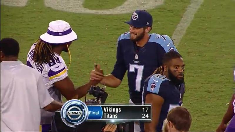 NFL / Pre-Season 2015 - 2016 / Week 4 / Minnesota Vikings - Tennessee Titans
