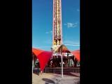 Жар-птица. Самый высокий в России аттракцион свободного падения - 65 метров! СОЧИ ПАРК