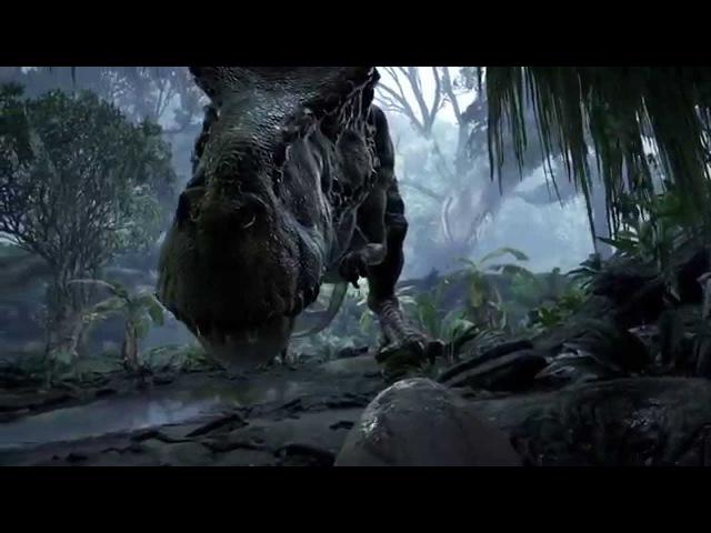 Виртуальная реальность и динозавры   Игра Back to Dinosaur Island   VR DEMO trailer