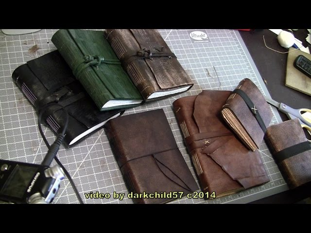 DIY Leather Journal (see description for more info)