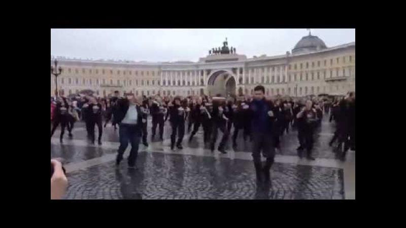 Irkinmir I am Sherlocked dancemob Russia St Petersburg