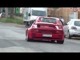 Vienna - Italian Supercars in Action (Koenig Testarossa, Aventador, Miura ...)