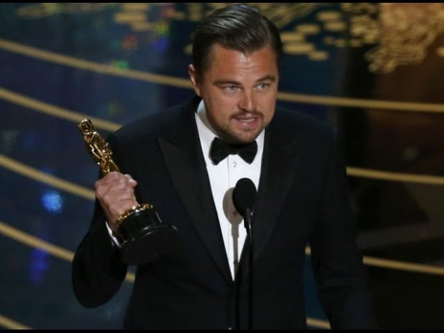 Leonardo DiCaprio Wins The Oscar 2016 / Леонардо Ди Каприо получил «Оскар» 2016
