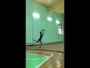 Я на тренировочке)