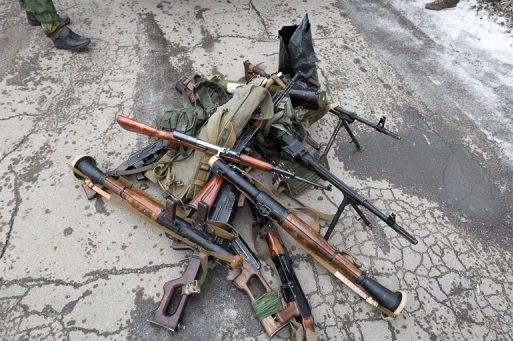 В ЛНР нашли тайники украинских диверсантов