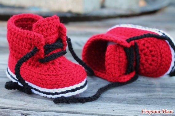 Пинетки ботиночки (6 фото) - картинка