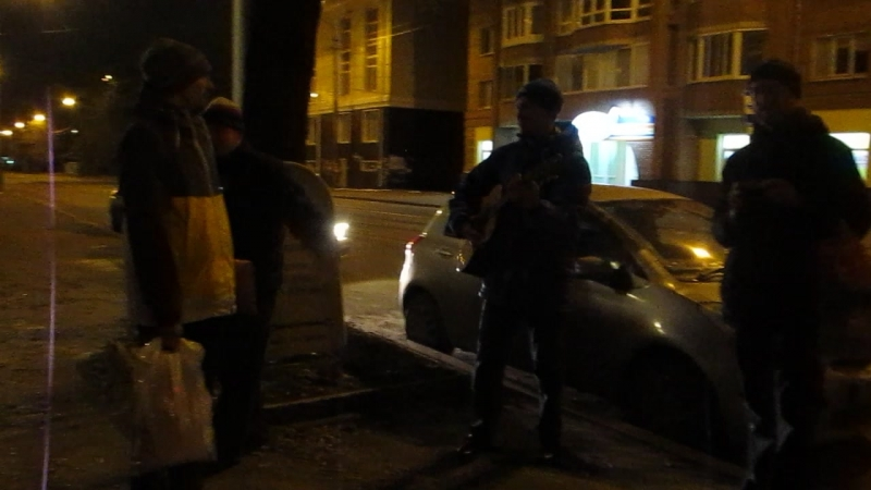 Ночной Вест кост под Группу крови, Томск 19.10.2015