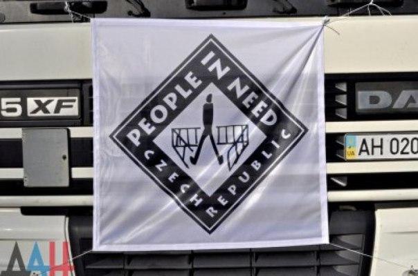 Чешская организация «Человек в беде» за январь доставила в ДНР почти 600 тонн гуманитарной помощи