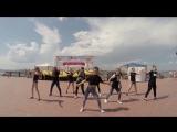 Ася Бабина от танц.студии DNC. Благотворительный концерт в честь дня защиты детей на набережной.
