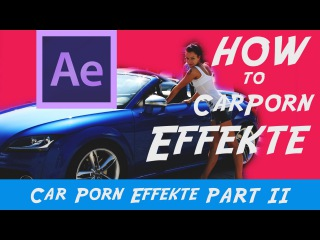 How to Car Porn German After Effects Tutorial - Zoom to Beat