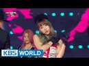 EXID - HOT PINK Music Bank Christmas Special / 2015.12.25