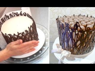 ( https://vk.com/lakomkavk) How To Make Chocolate WRAP Cage   CHOCOLATE HACKS by Cakes StepbyStep