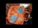 Шьем из джинсовой ткани удобные сумки и модные аксессуары. Мастер класс. Татьяна Лазарева