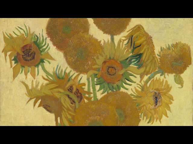 Vincent van Gogh The colour and vitality of his works National Gallery