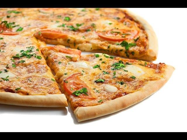 Пицца Маргарита (Мастер-класс Джузеппе Пелузо)
