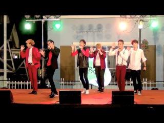 151108 MisterTarn cover KPOP - Dope + PRAY + Boyz with Fun @The Idol Battle Cover Dance 2015 (Semi)