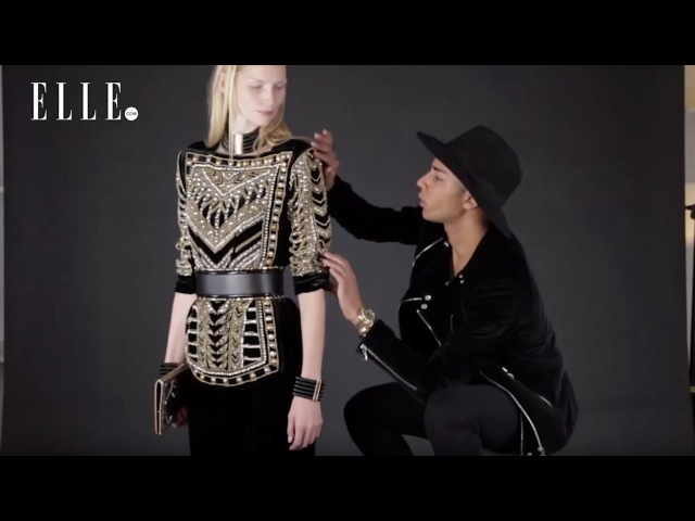 Olivier Rousteing Gives a Sneak Peek of His Balmain X HM Collection | ELLE