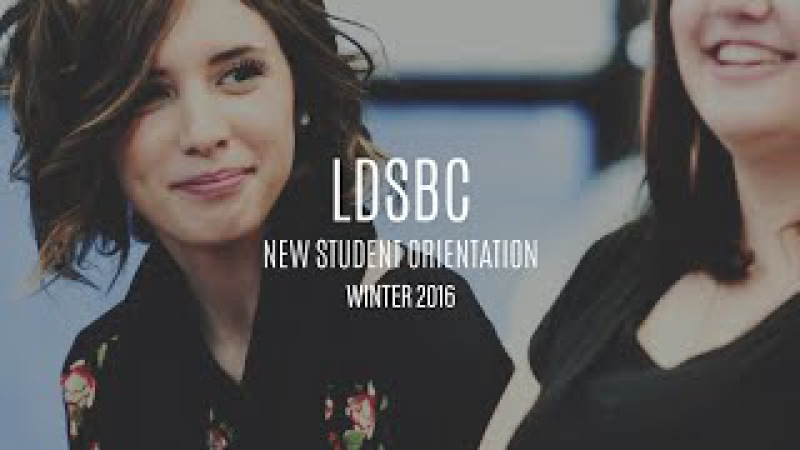 Day One of Winter New Student Orientation - LDSBC