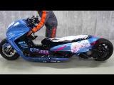 Пневматическая подвеска скутера. Грамотный тюнинг
