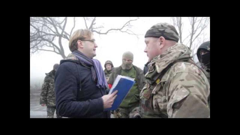 Гуманітарний конвой Ахметова.Позиція добровольчих батальйонів!