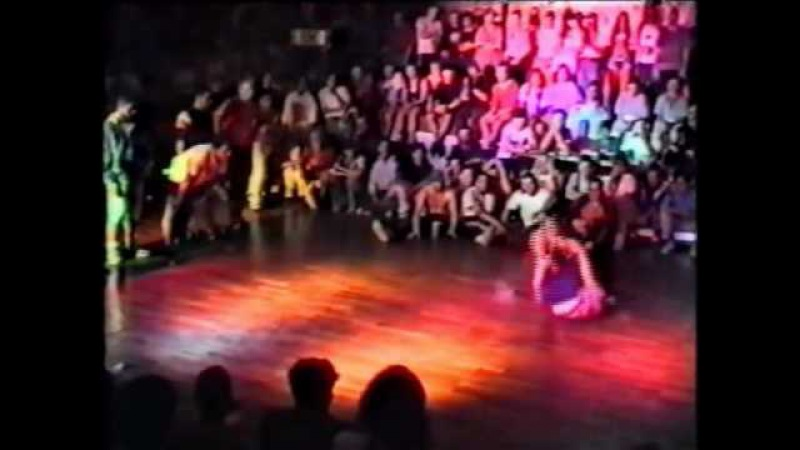 Legendary Bboy Battles of all time BOTY92 finals Rocksteady Family vs Swift Rock Storm