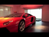 Millionaires park supercars in their LIVING ROOM