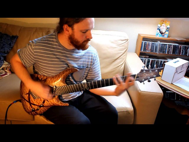 Joe Haley Echoes to Come Psycroptic Playthrough - Ormsby SX custom guitar