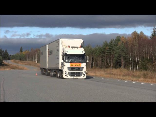 Swedish HCT DUO-trailer performance testing