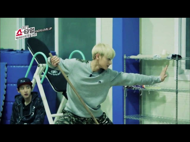 엑소의 쇼타임 - HD 엑소의 쇼타임 8회 액션돌 타오 EXO'S Showtime ep.8 TAO's martial arts アクション