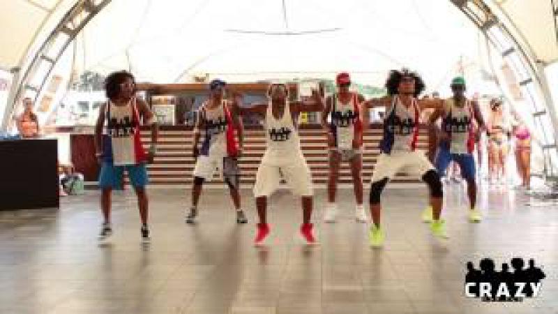 Chacal Y Yakarta con Alogrande - Animality / Zumba® choreo by Crazy For Fun®
