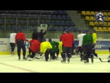 Тренировка Кулагера в Усть-Каменогорске (08.02.2016)