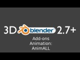 Blender 2.77 Add-ons Animation AnimAll