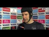 Arsenal - Crystal Palace 1-1 Post match interview Petr Cech(Русские субтитры).