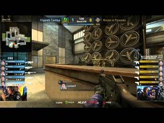 MLG CS:GO Major Championship: Shara 3k hold on B site