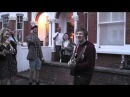 Ed Sheeran playing You need me I don't need you at our street party
