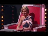 Полина Гагарина показала всем, кто здесь мамочка. Второй четвертьфинал. Фрагмент выпуска от 11.12.2015 - Голос